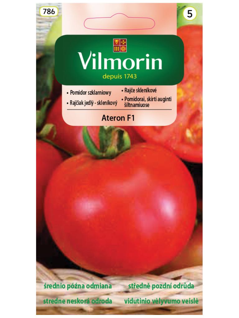 NOWOŚĆ! - Pomidor szklarniowy Ateron F1 śr. późna odmiana - Vilmorin