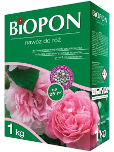 Nawóz do róż 1 kg - BIOPON