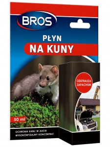 Płyn na kuny 50 ml - BROS